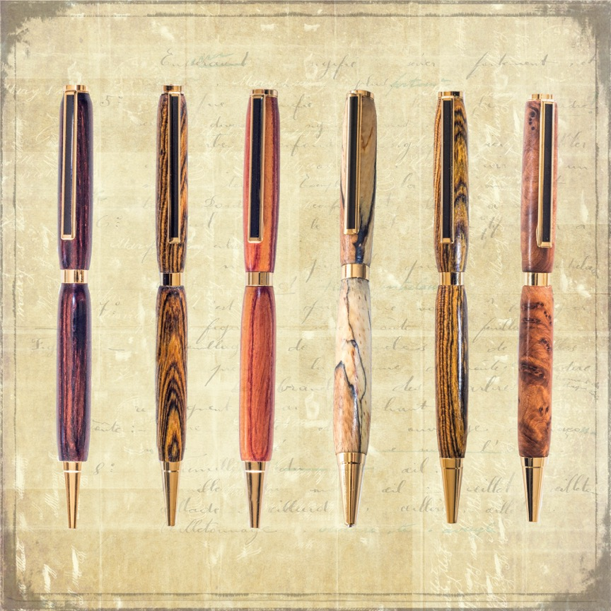 unique handcrafted pens from 35 euro